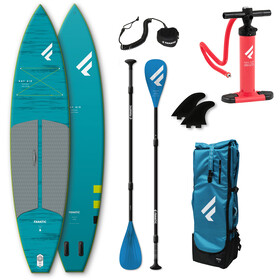 """Fanatic Ray Air Pocket/Pure SUP Package 11'6""""x31"""" Inflatable SUP with Paddle and Pump"""
